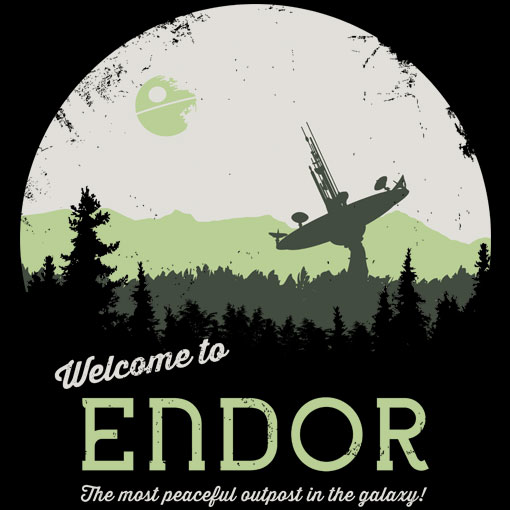TeeFizz: Welcome to Endor