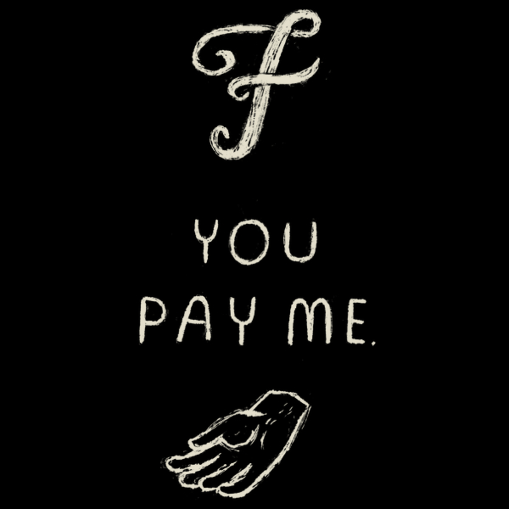 NeatoShop: f you pay me