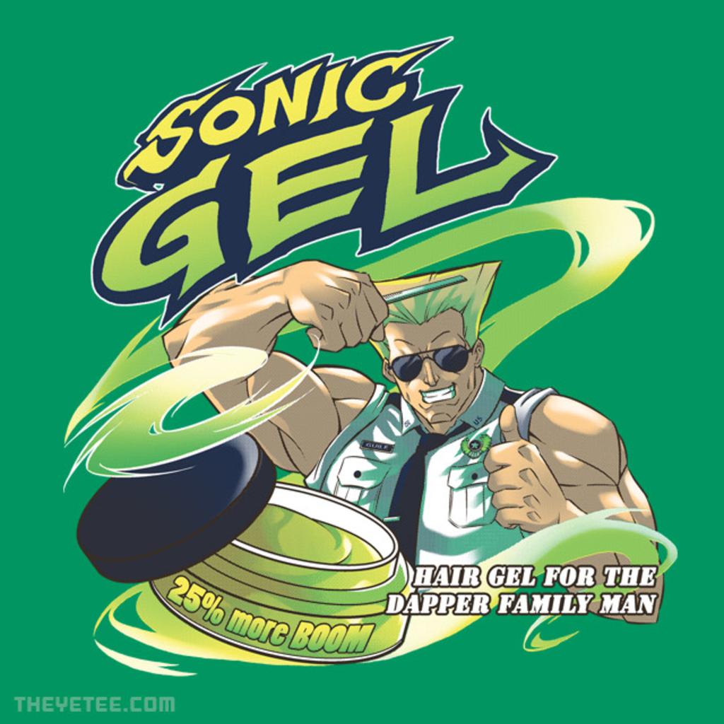 The Yetee: Sonic gel