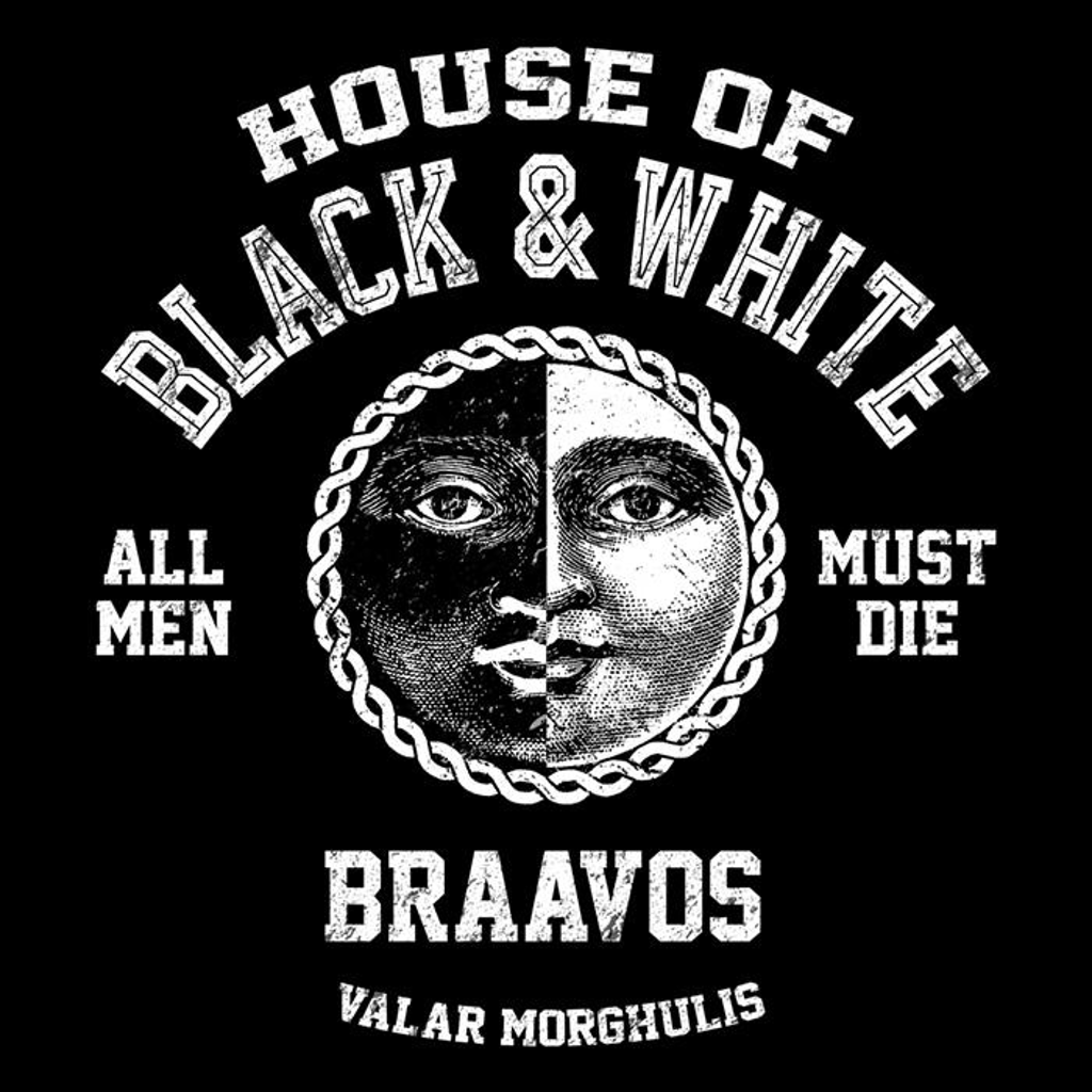 Once Upon a Tee: House of Black and White