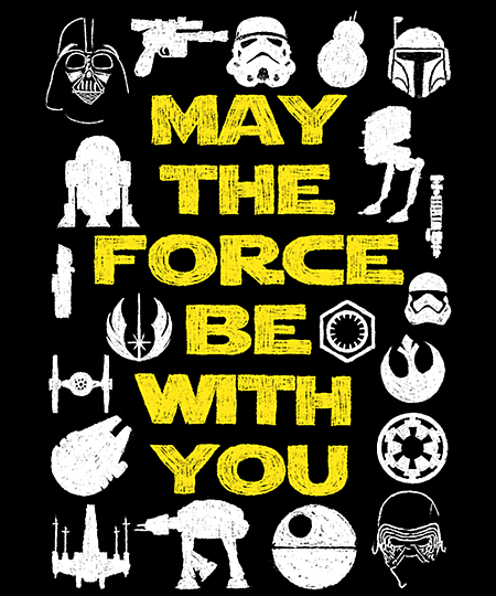 Qwertee: May the Force be with You