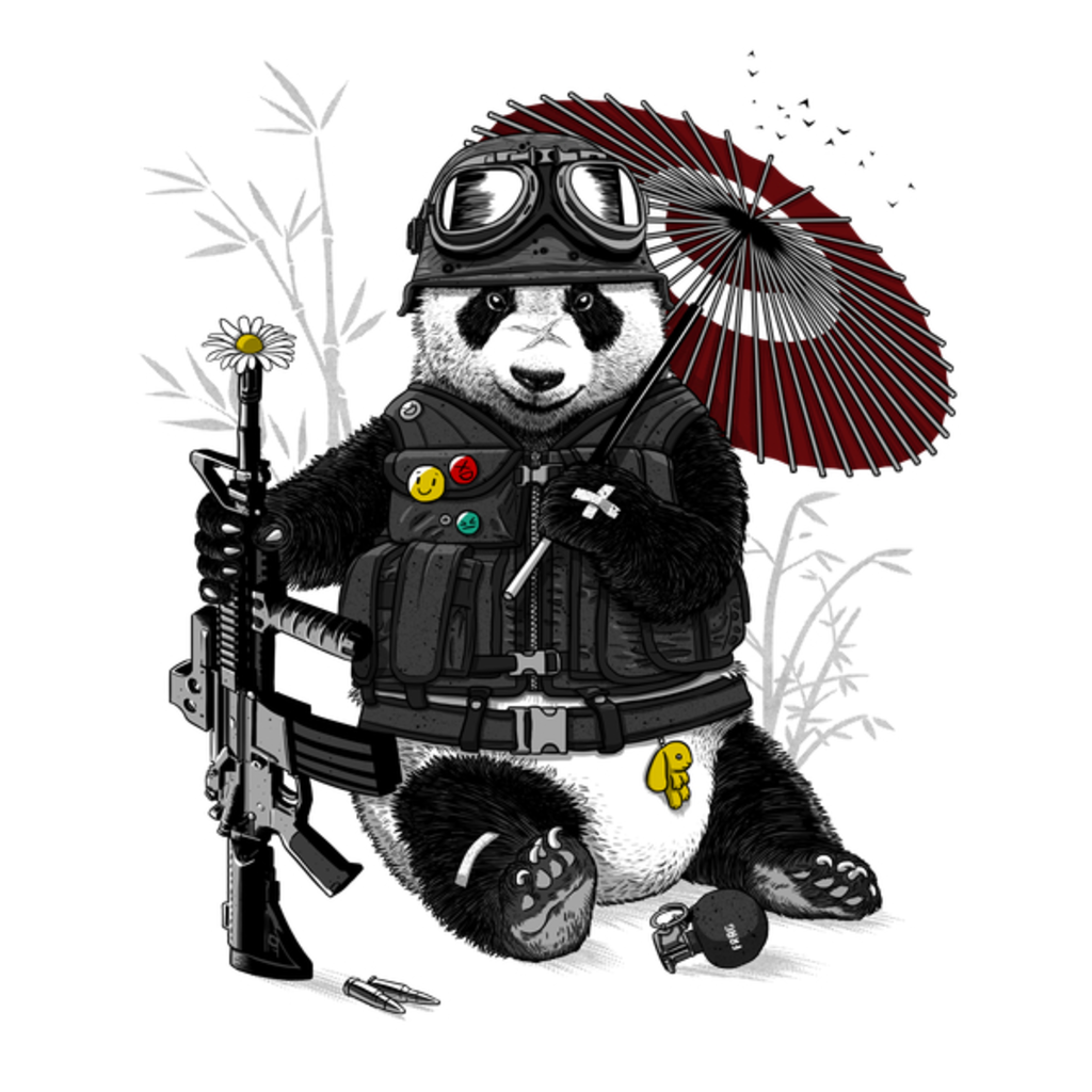 NeatoShop: Military Panda