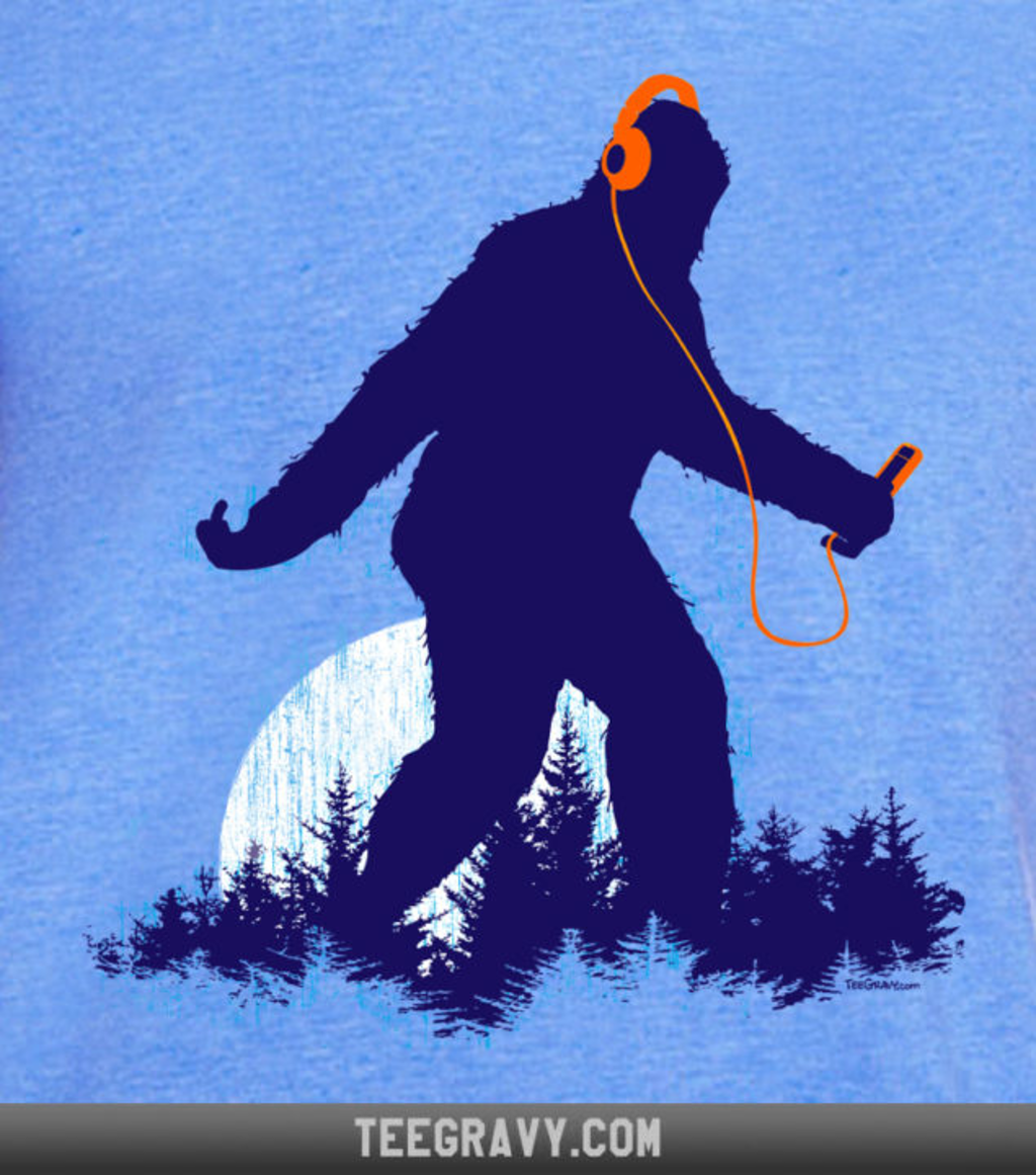 Tee Gravy: Sasquatch So Ill