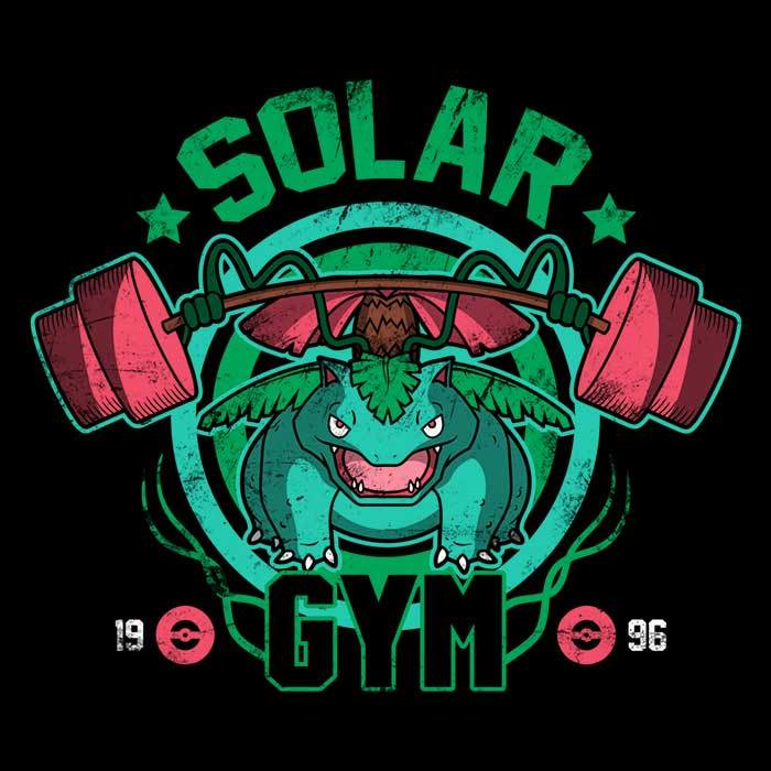 Once Upon a Tee: Solar Gym