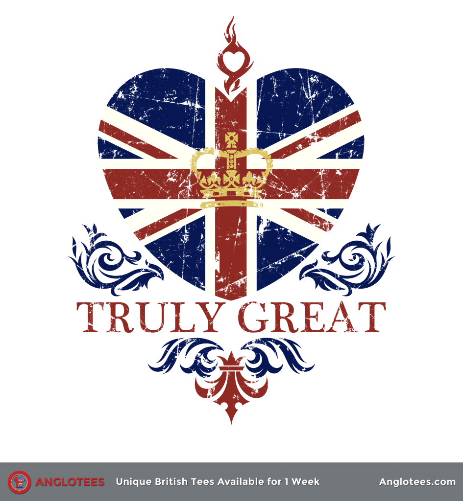 Anglotees: Truly Great Britain