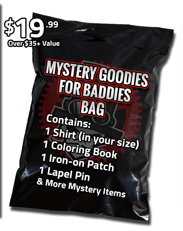 teeVillain: Goodies for Baddies
