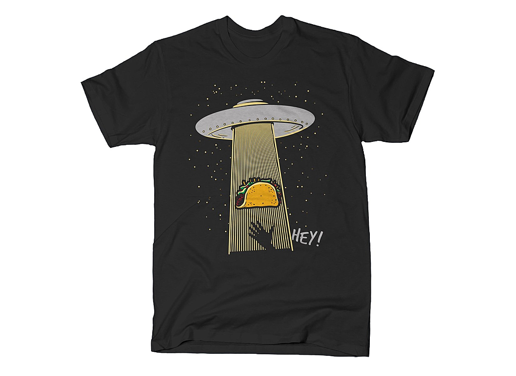 SnorgTees: Taco Abduction