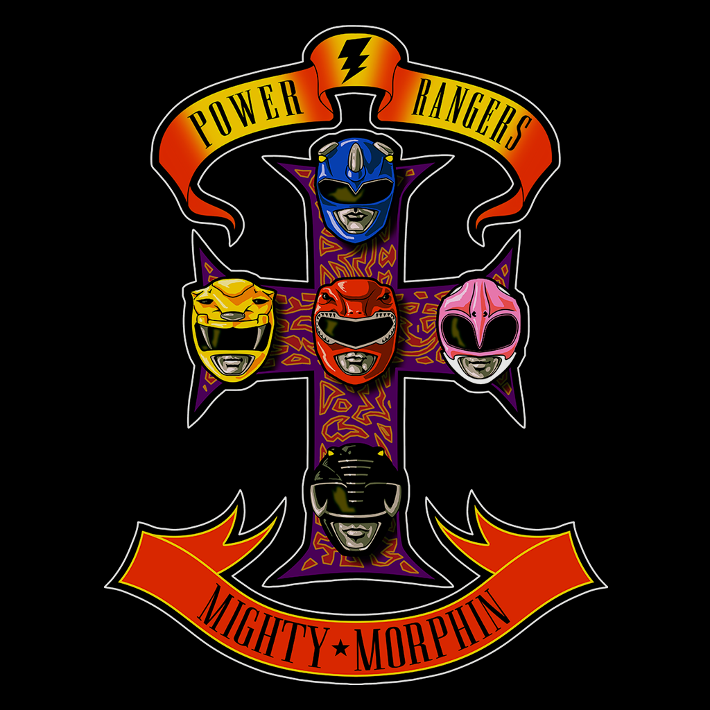 Pop-Up Tee: Appetite for Morphin