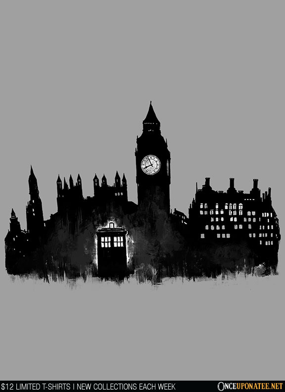 Once Upon a Tee: Police Box in London