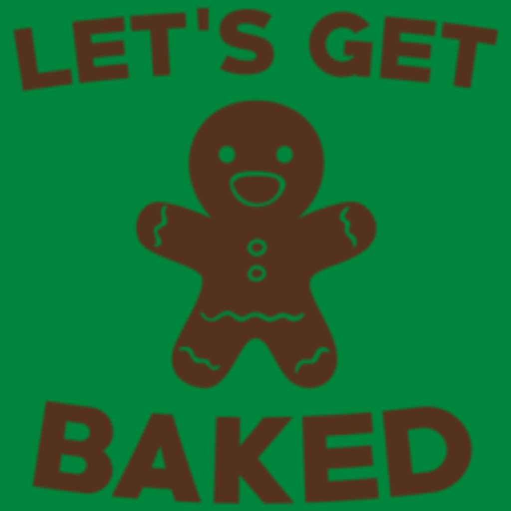 Textual Tees: Let's Get Baked