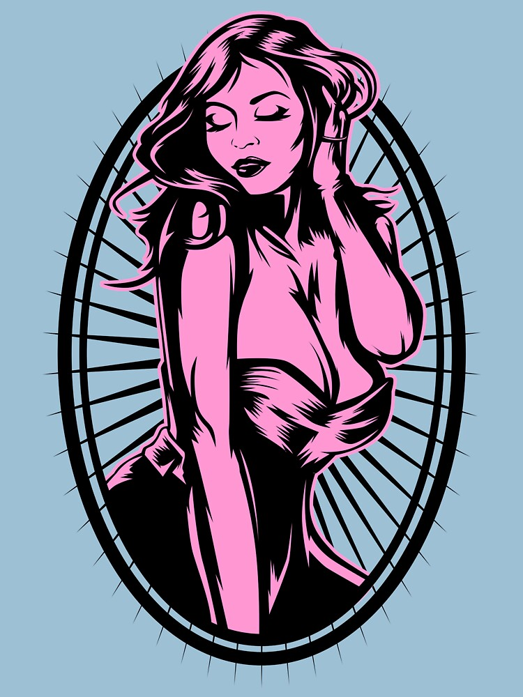 RedBubble: Sexy drawn woman