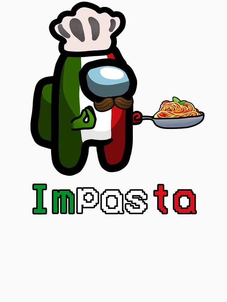 RedBubble: Impasta - Italian Among Us Impostor