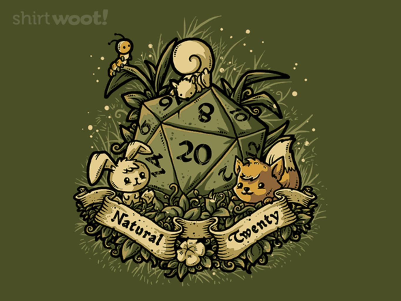 Woot!: Natural 20