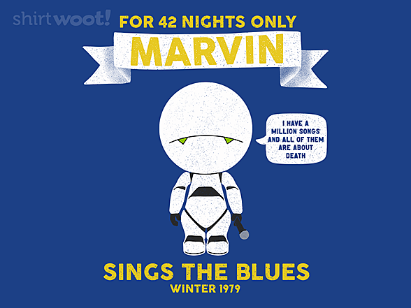 Woot!: Marvin Sings the Blues