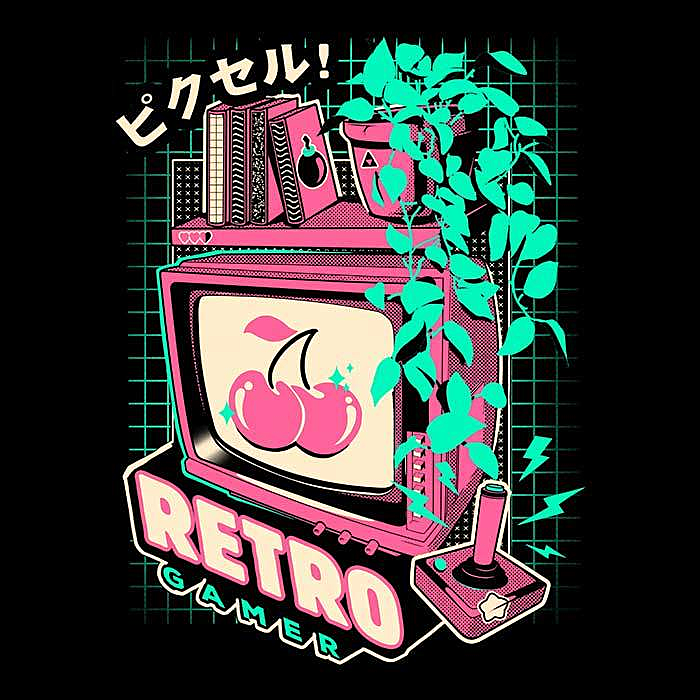 Once Upon a Tee: Retro Gaming