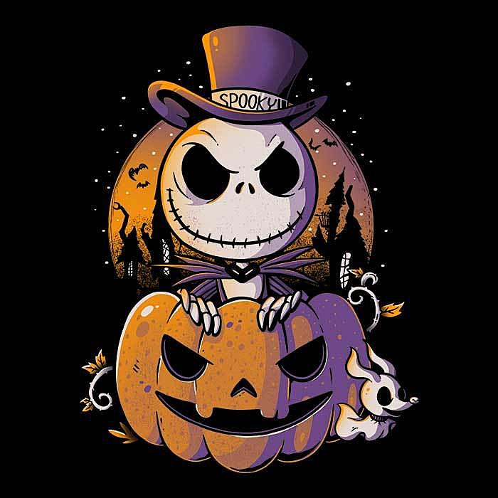 Once Upon a Tee: Spooky Pumpkin King