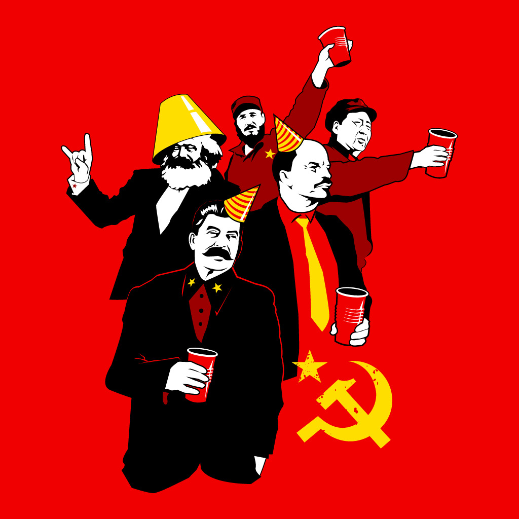 TeeTee: The Communist Party (variant)
