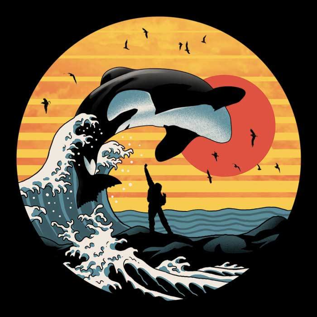 Once Upon a Tee: The Great Whale Off Kanagawa