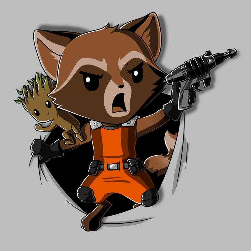 TeeTurtle: Rocket Raccoon Breakthrough
