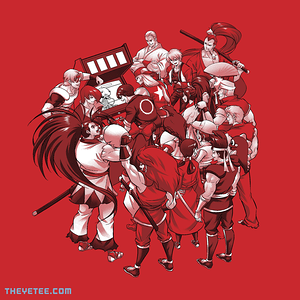 The Yetee: fun at the arcade