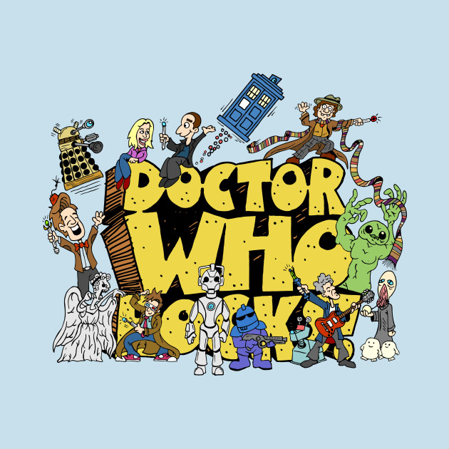 TeePublic: Doctor Who Rocks T-Shirt