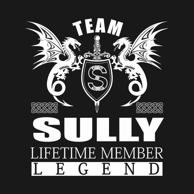 TeePublic: Team SULLY Lifetime Member Legend