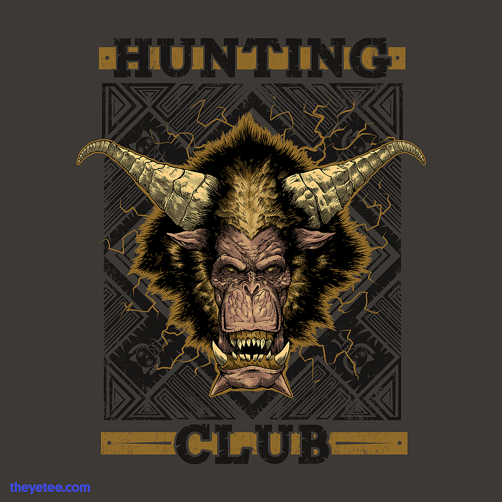 The Yetee: Hunting Club: Thunder Monkey