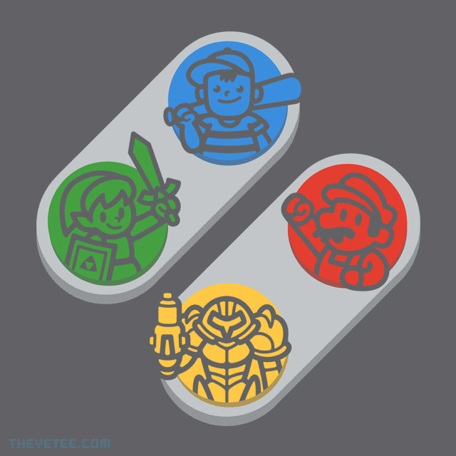 The Yetee: Push My Buttons