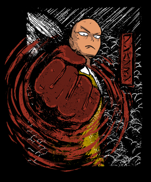 Qwertee: JAPANESE HERO
