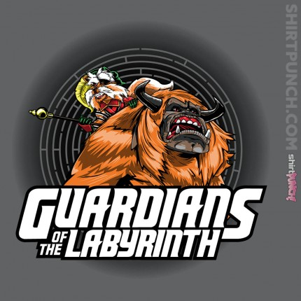 ShirtPunch: Guardians of the Labyrinth