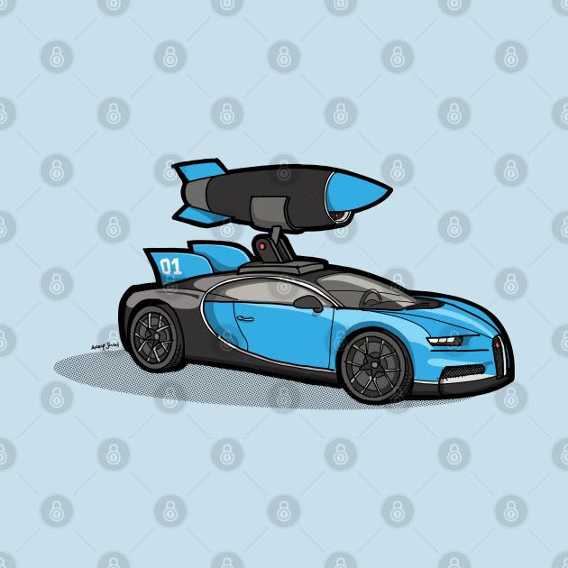 TeePublic: Missile Bugatti