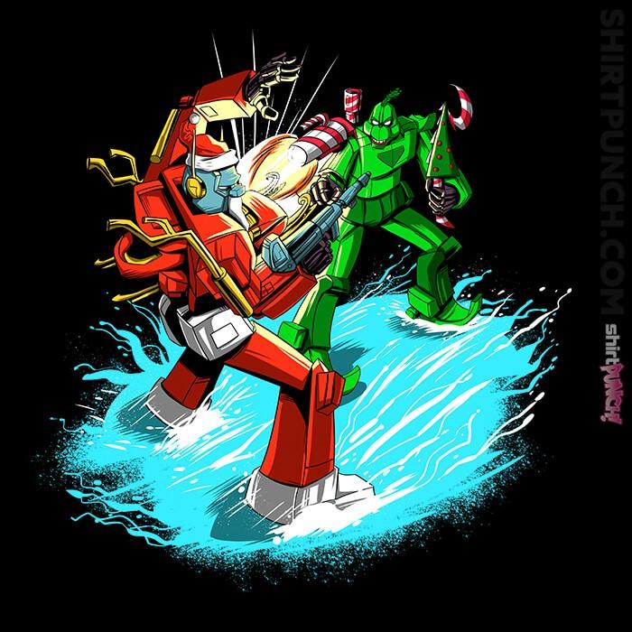 ShirtPunch: Santa Prime