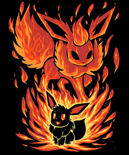 Qwertee: The Fire Evolution Within