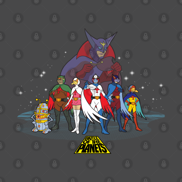 TeePublic: Battle of the Planets - Group