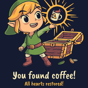 Qwertee: The Legendary Coffee
