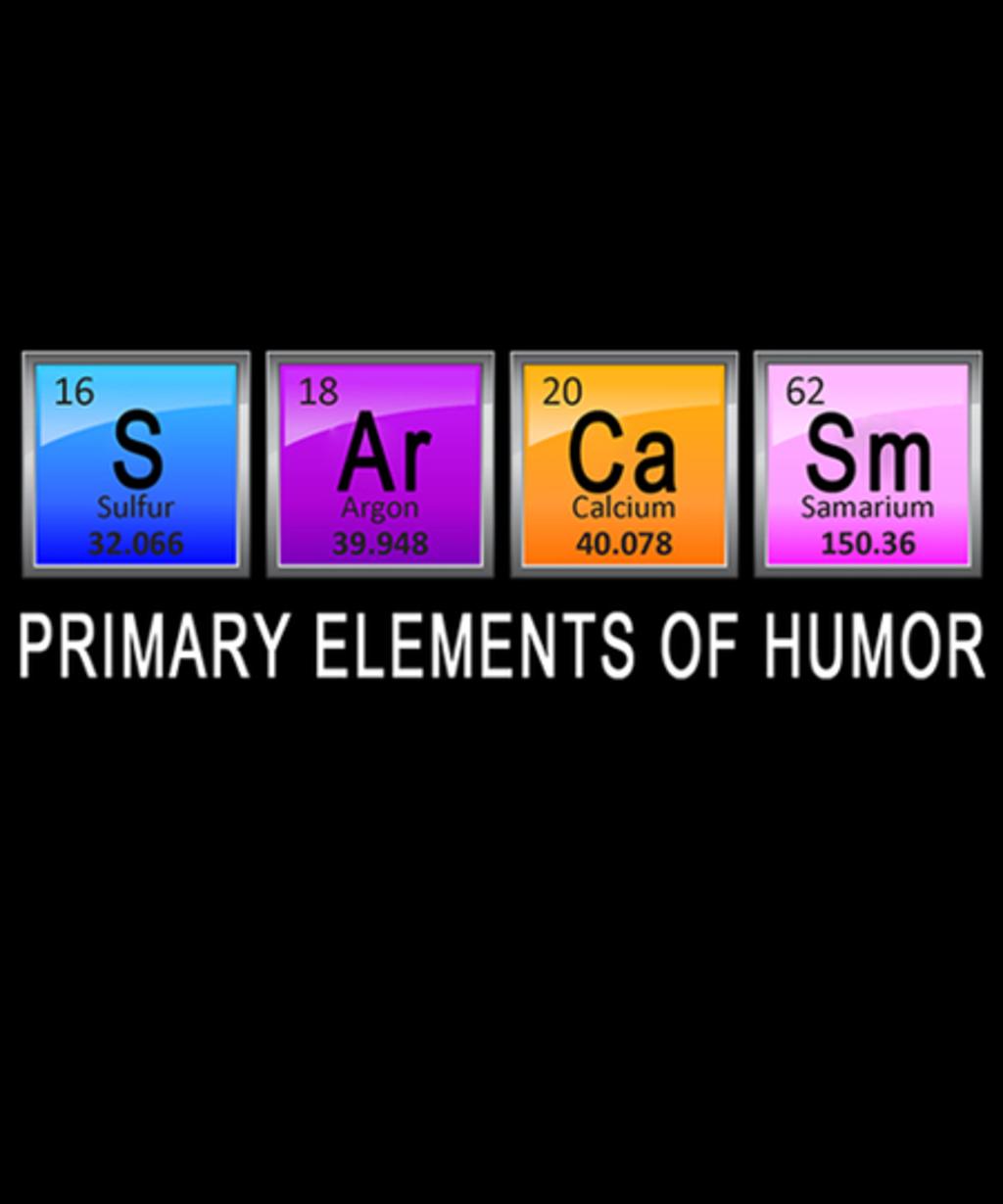 Qwertee: Primary elements of humor