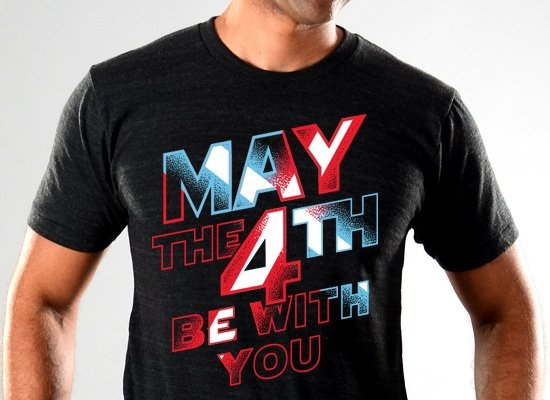 3c2910544 May The 4th Be With You Limited Edition Tri-Blend from SnorgTees ...