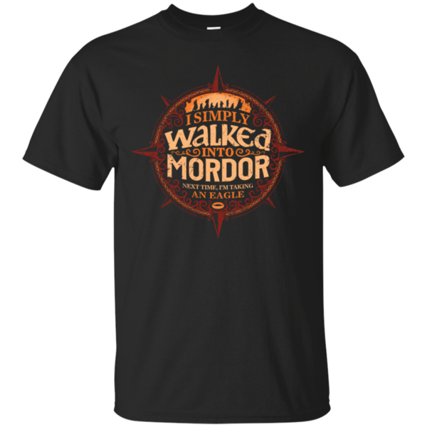 Pop-Up Tee: Walked Mordor