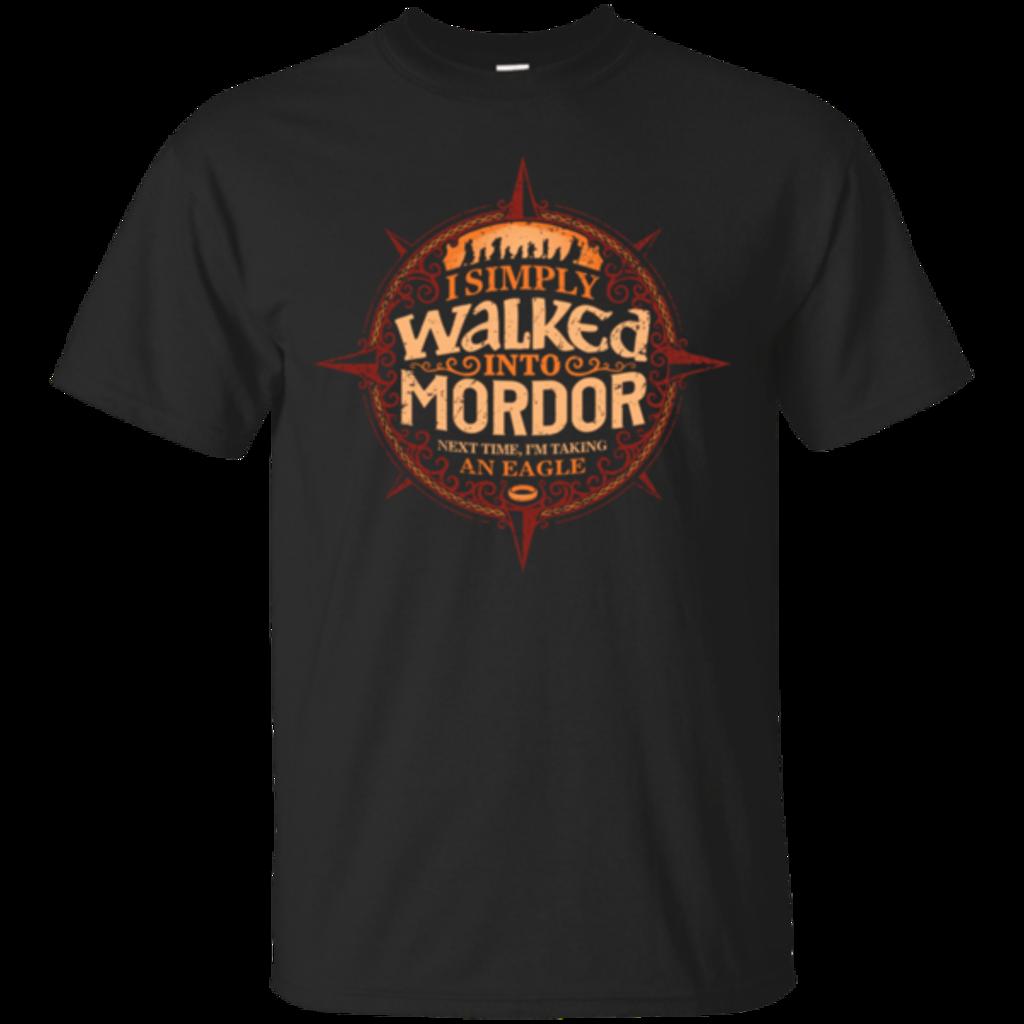 Pop-Up Tee: Walked Mordor