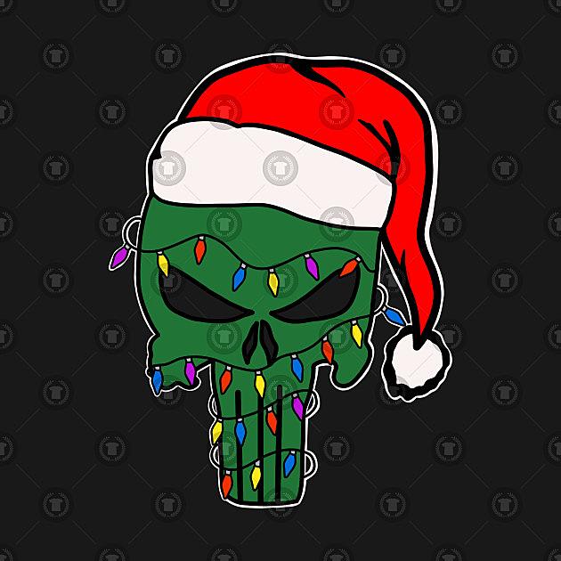 TeePublic: Christmas Punisher
