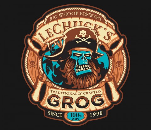 TeeFury: Ghost Pirate Grog-Exclusive