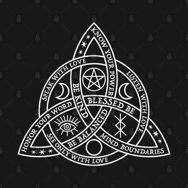 TeePublic: Good Witch Celtic Knot