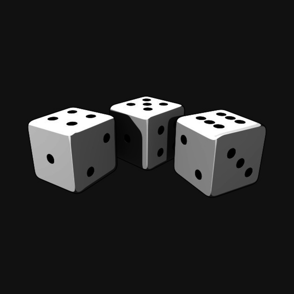 TeePublic: Lucky Dice T-Shirt