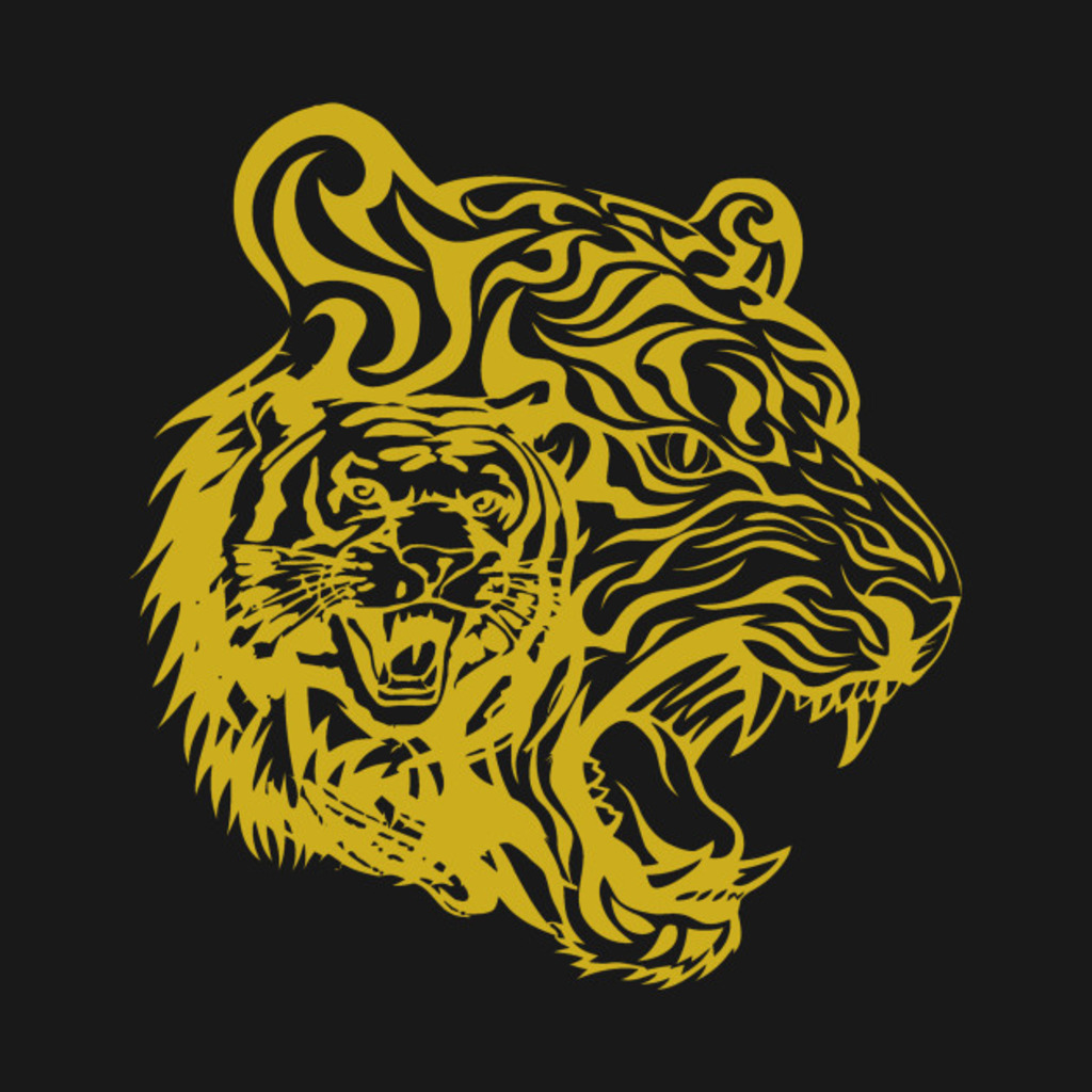 TeePublic: Golden Tigers