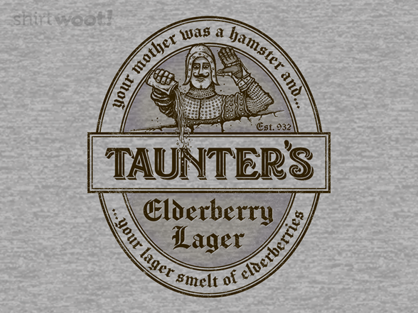 Woot!: Your Lager Smelt of Elderberries