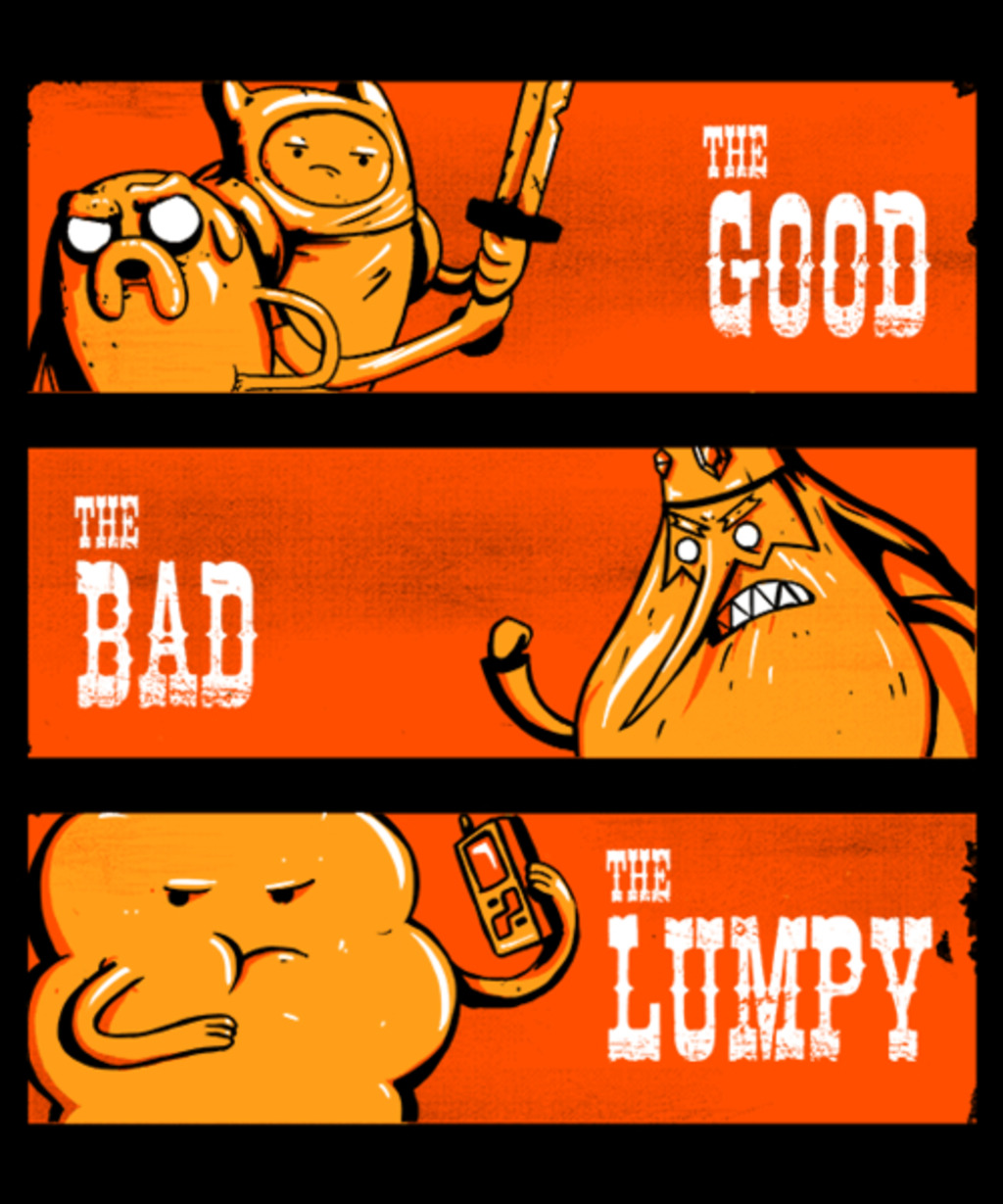 Qwertee: The Good, the Bad and the Lumpy