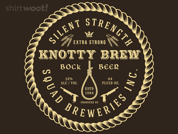 Woot!: Knotty Brew - Squad Breweries - $7.00 + $5 standard shipping