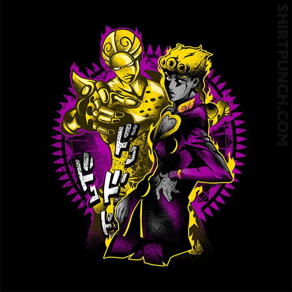 ShirtPunch: Attack Of Giorno