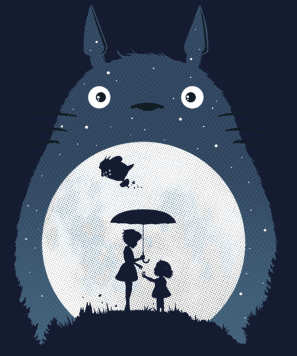 Qwertee: Moonlight Flight