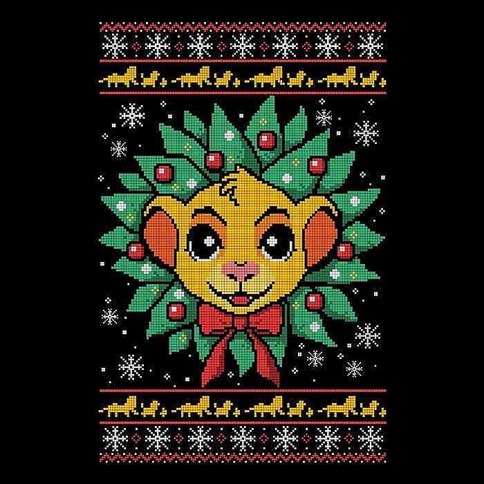 Once Upon a Tee: Lion Christmas